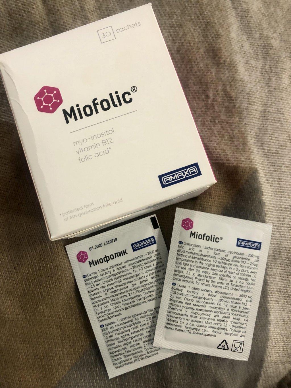 Миофолик - Миофолик и его дейсвие