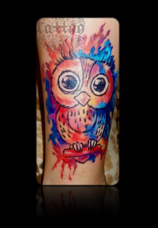 татуировка - осталась довольна