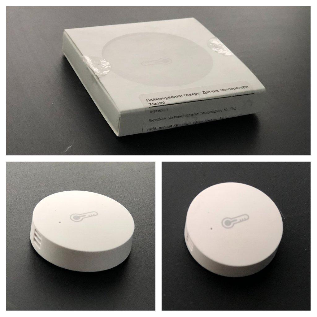 Интернет-магазин Цитрус (citrus.ua) - Датчик температуры и влажности Xiaomi