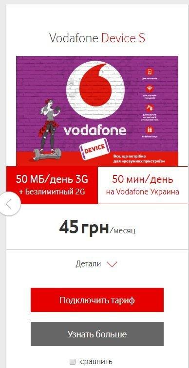 Vodafone Украина - Без оснований заблокировали номер