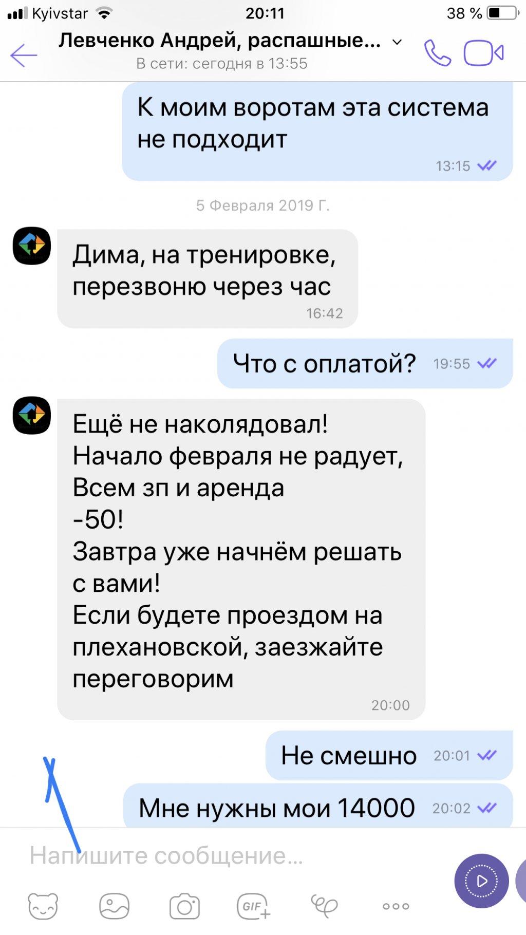 Ворота групп - Флп Левченко Андрей Васильевич