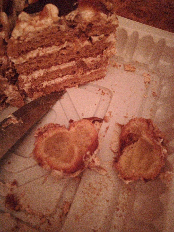 Varus market, Днепропетровск - торт медовый каприз