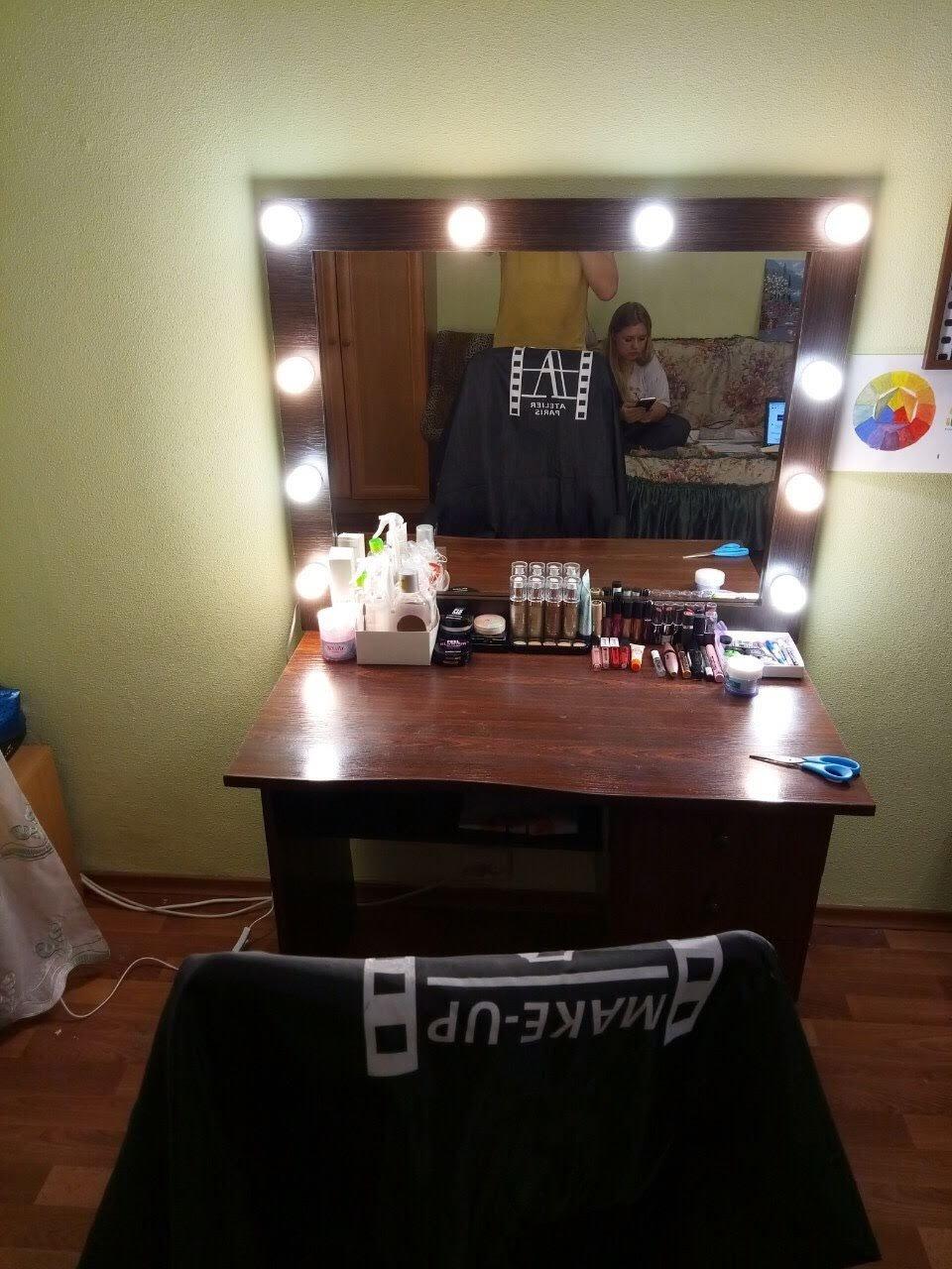 UkrBest - Отличное зеркало для макияжа с подсветкой купили!..