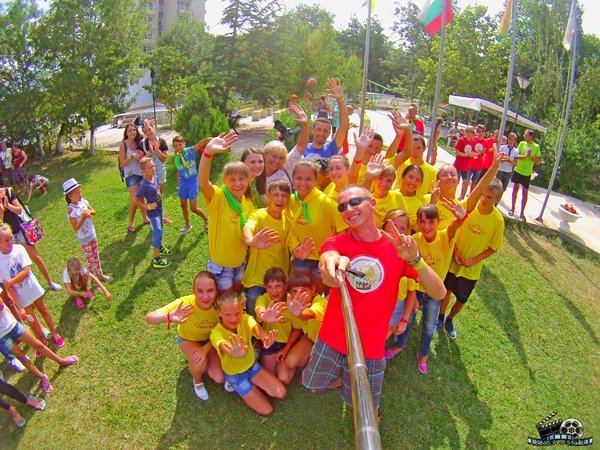 Лагерь ВМЕСТЕ, Китен, Болгария - Грация скучает :)