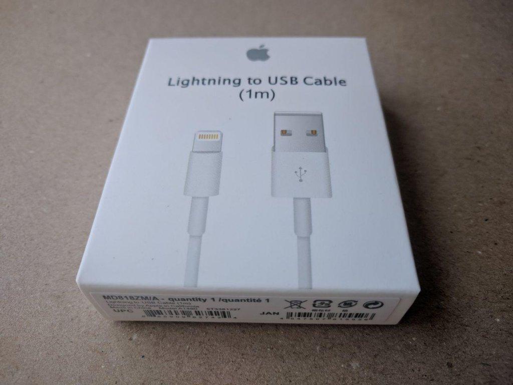 belker.com.ua интернет-магазин - Кабель Apple Lightning MD818ZM/A
