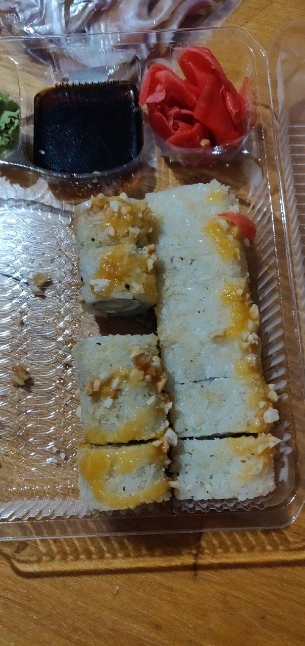 Евразия - Замовили суши, не перевіряли прийшли додому відкрили, а там жах.
