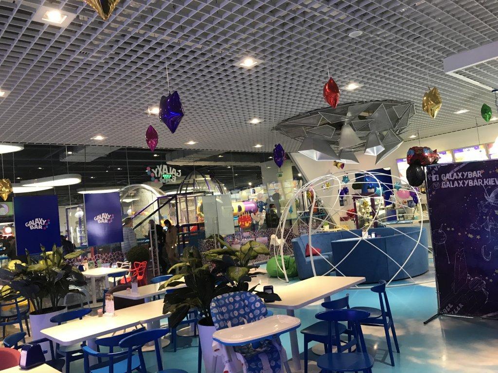 Ресторан Galaxy Bar в Lavin Mall - Неожиданно круто!