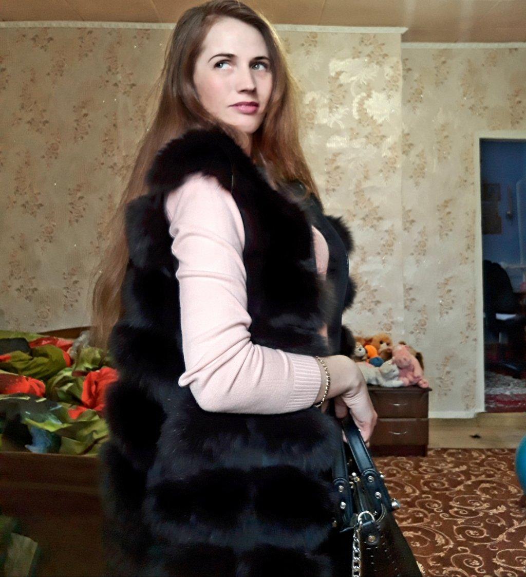 Шикарные меха, магазин меховых изделий - Меховой жилет.