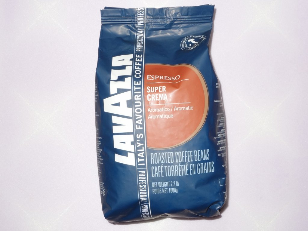 Кофе Lavazza - Кофе Lavazza Super Crema в зёрнах