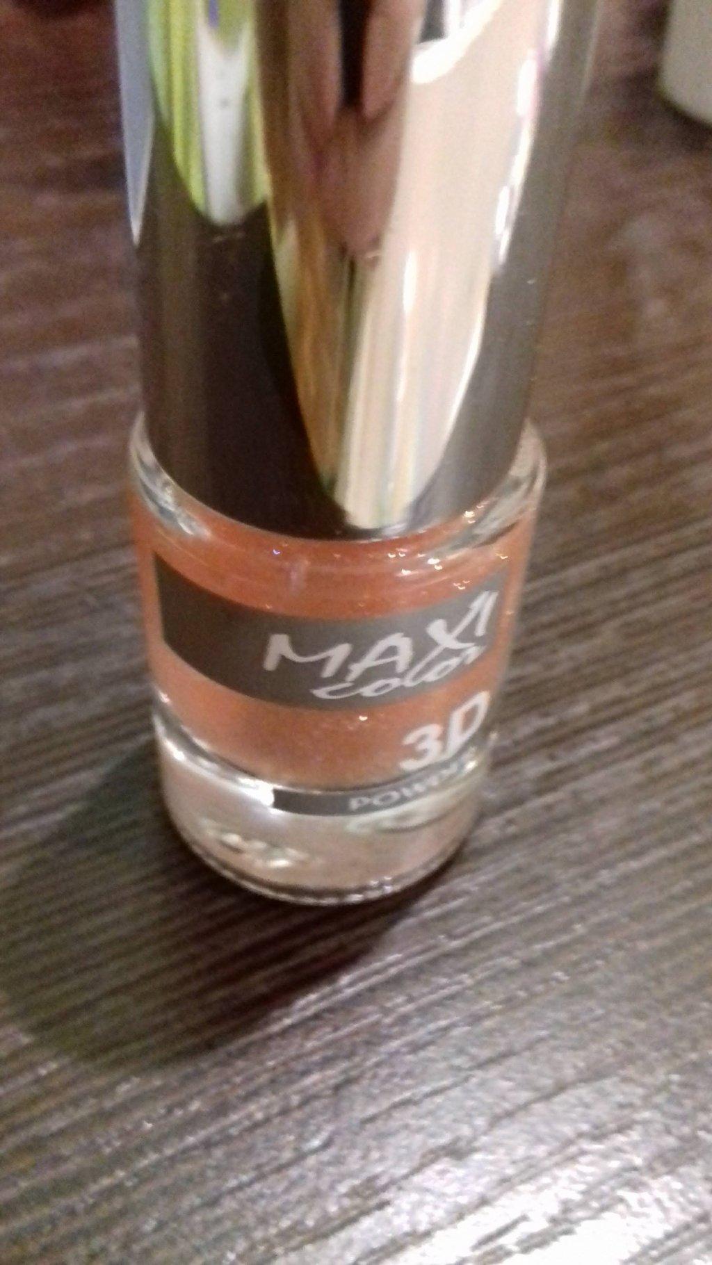 Лак для ногтей Maxi color - Лак для ногтей 3D