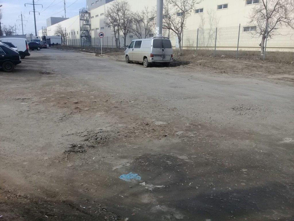 Деливери - въезд на Одессу-2