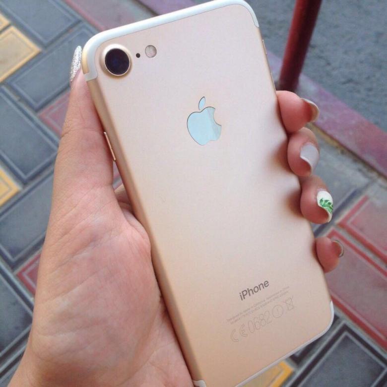 AppleDream - интернет-магазин бу iphone - Идеальный 7 128GB Gold
