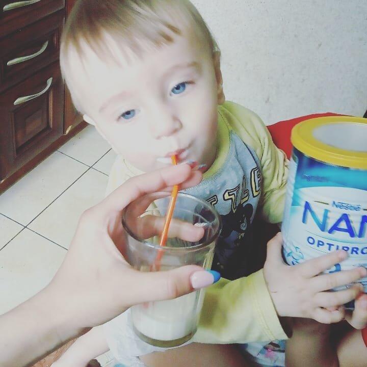 Детсокое молочко Nestle nan optipro 3 - Теперь это молочко Унас на первом месте
