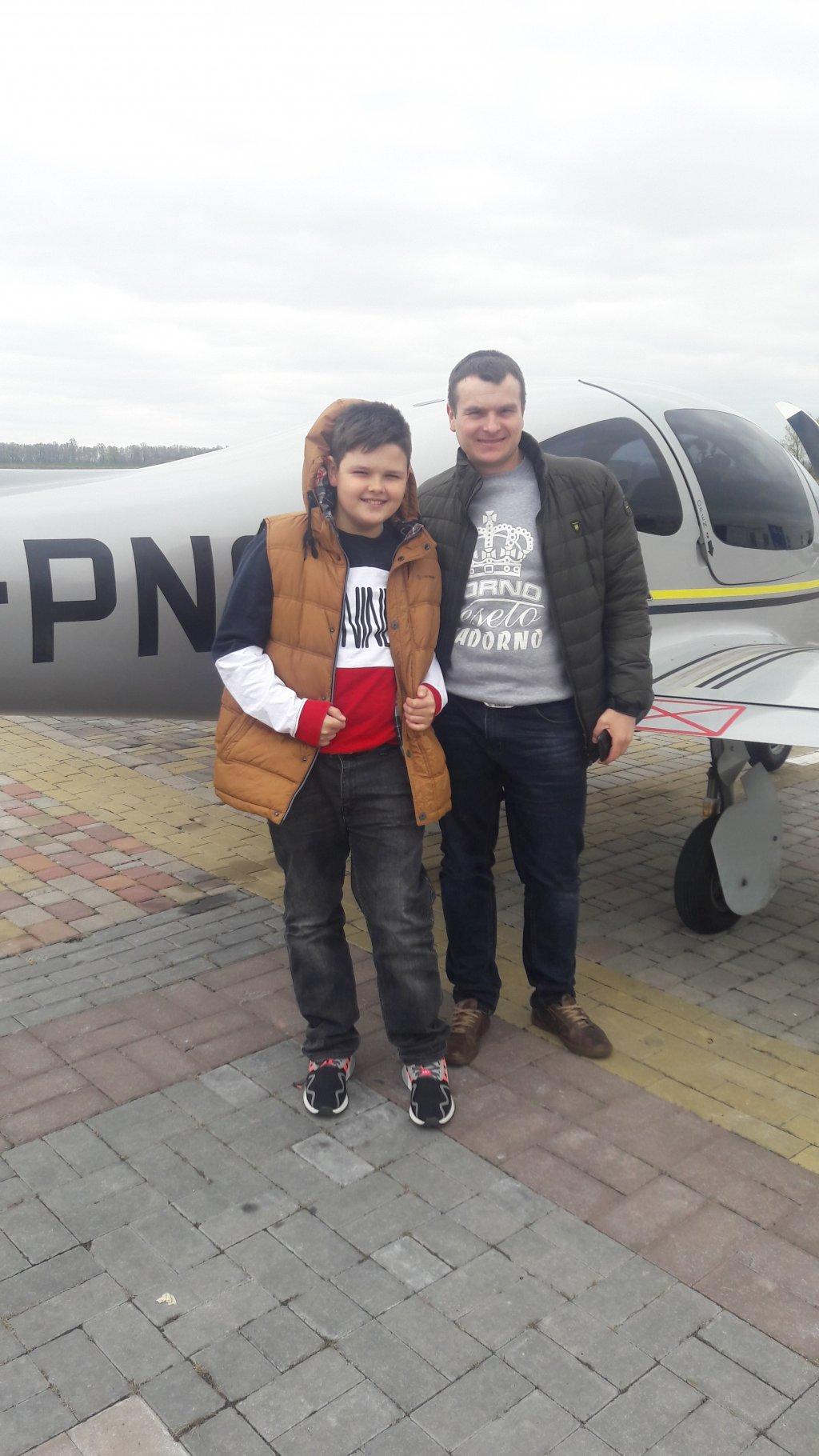 Donum - Політ на Літаку Патріот