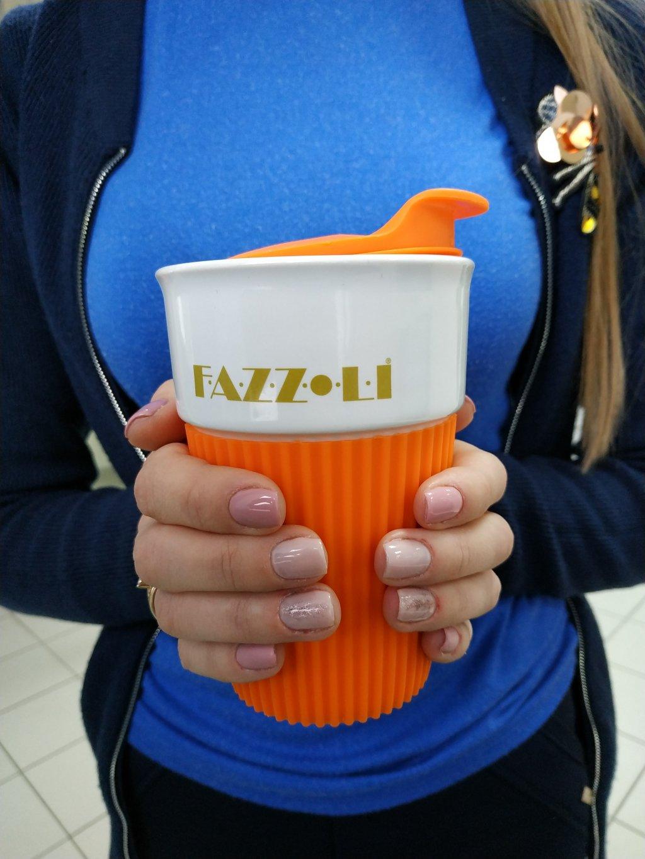 Телмоне интернет-магазин - Термо-чашка Fazolli