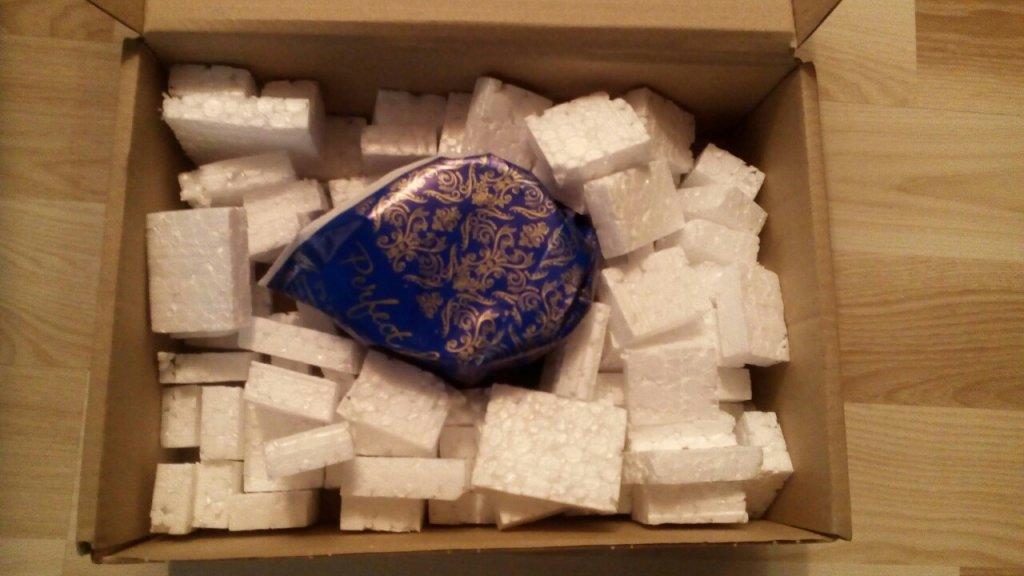 НОВАЯ ПОЧТА (Нова Пошта) - обслуживание на 5 а запаковка товара не соответствует коробка