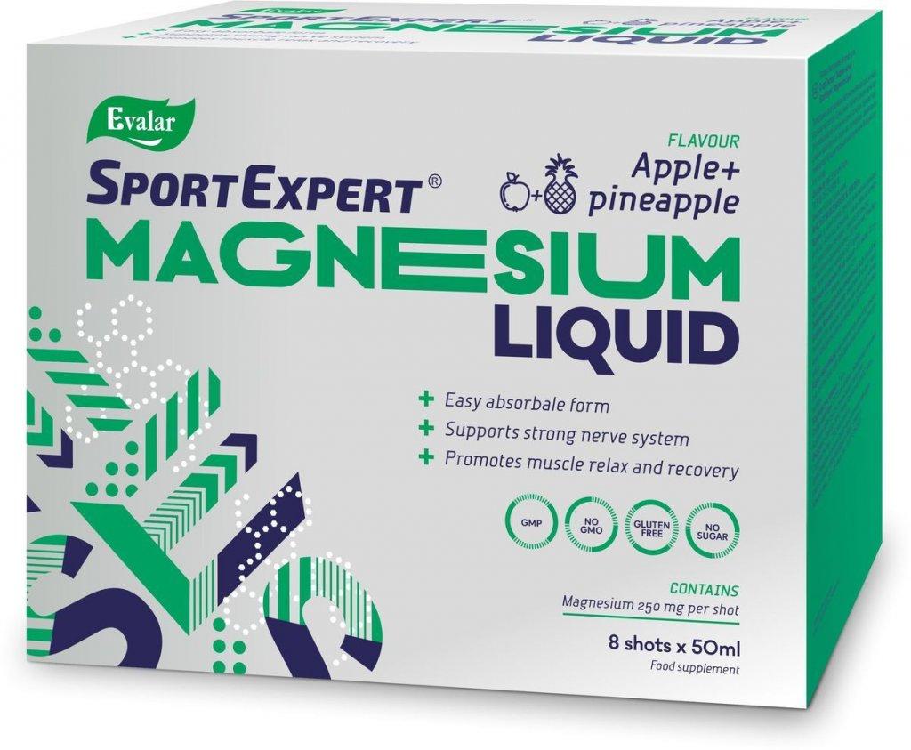 SportExpert MagneziumLiquid - Жидкий магний усваивается лучше