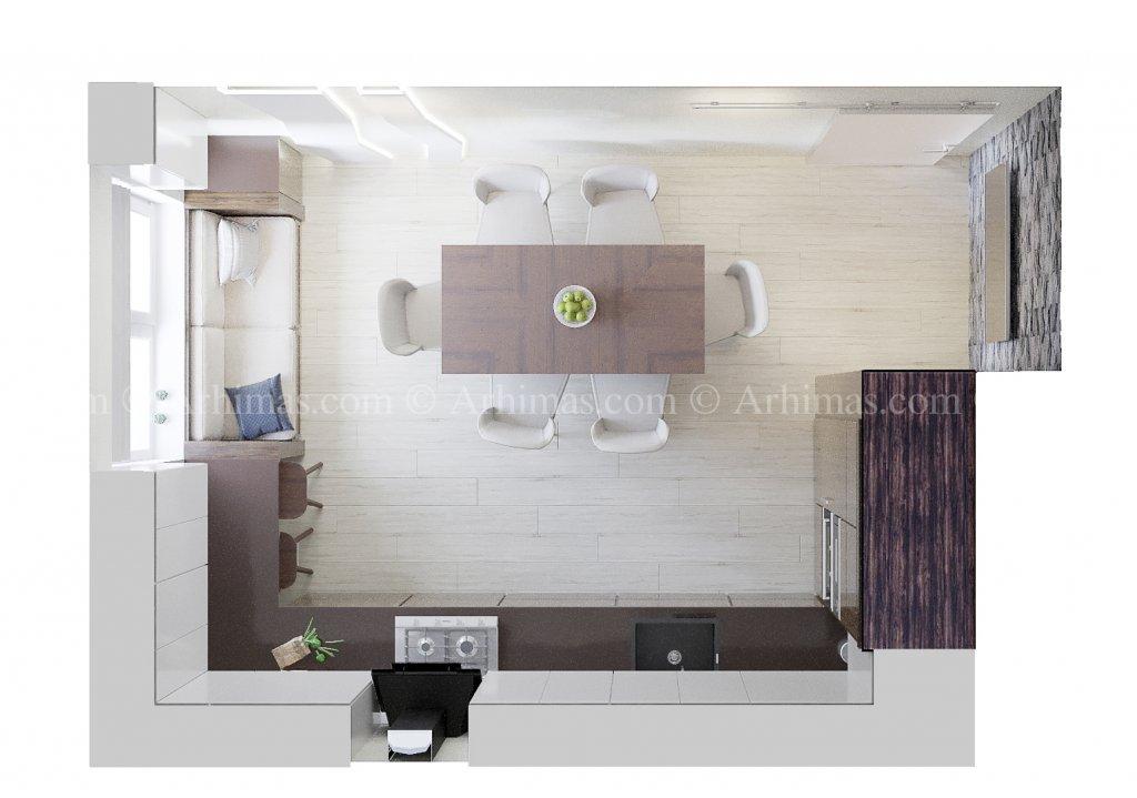 Архитектурная мастерская Архимас - Современный интерьер