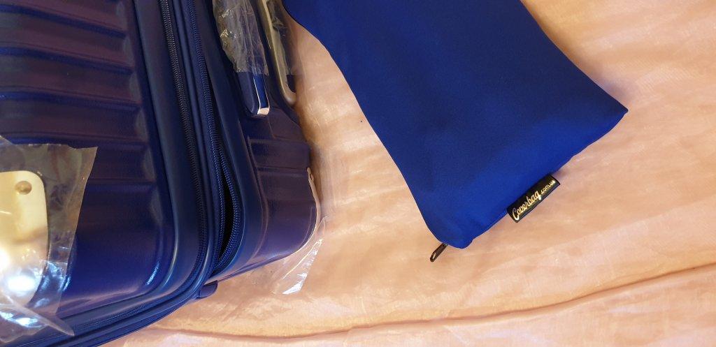 Чехол для чемодана - Очень довольна покупкой
