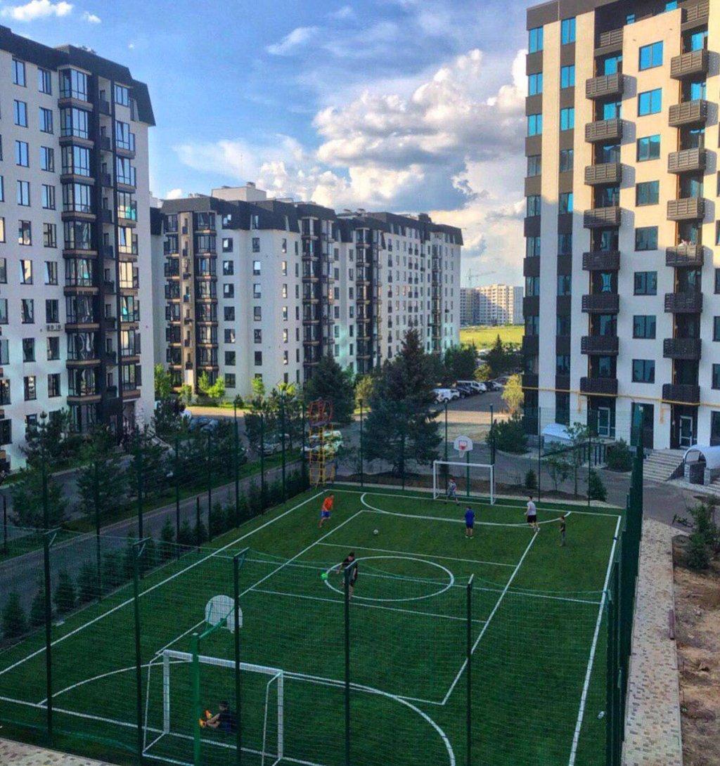 ЖК Уютный квартал (Киев) - На территории Квартала открыли спортивную игровую площадку