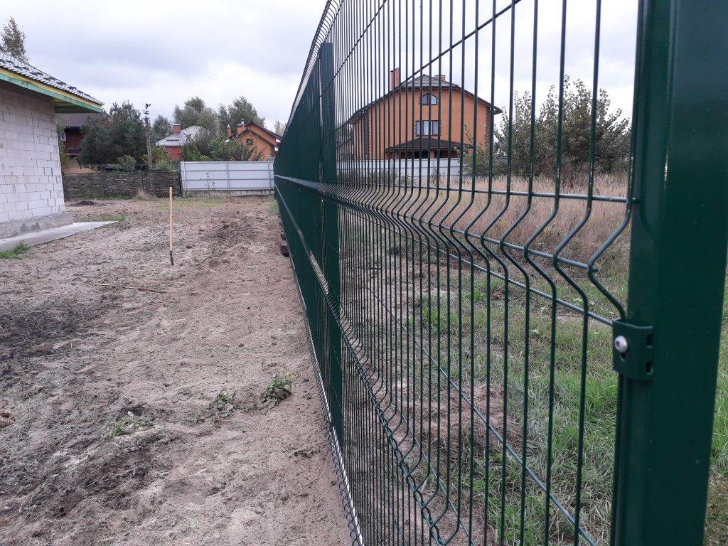 +380961453686 - Классно установили сварной забор из сетки
