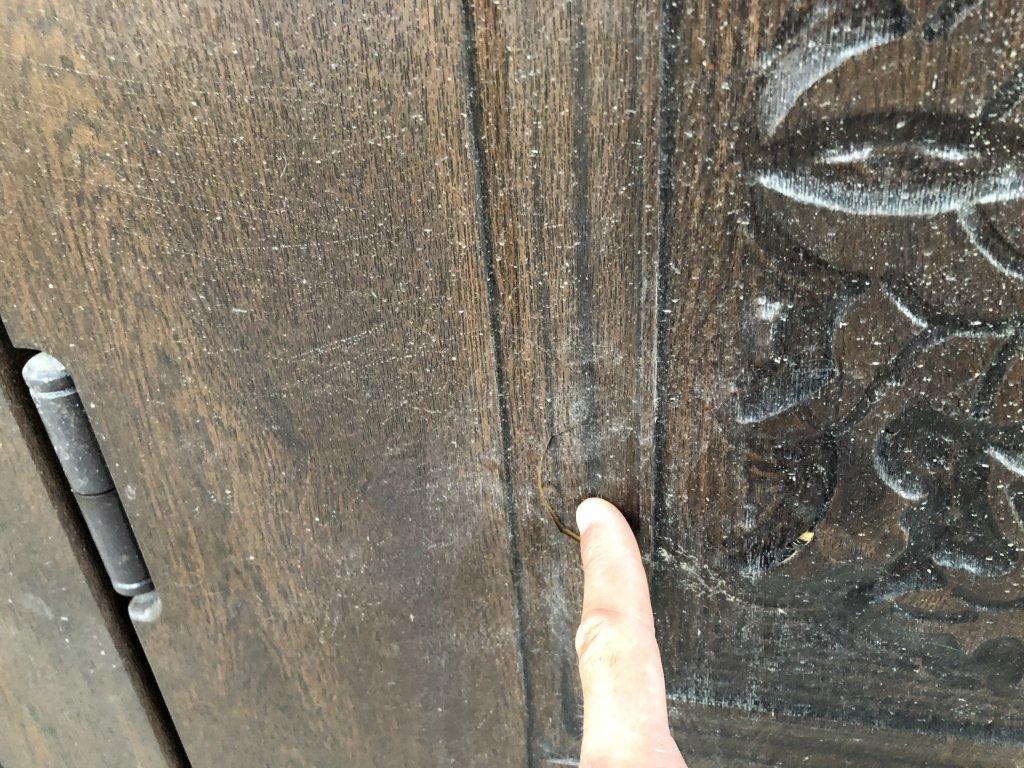 Входные двери Аплот - Двери полопались