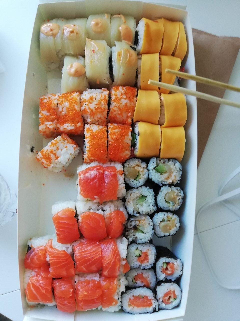 MAFIA - Ужасные суши!!!!