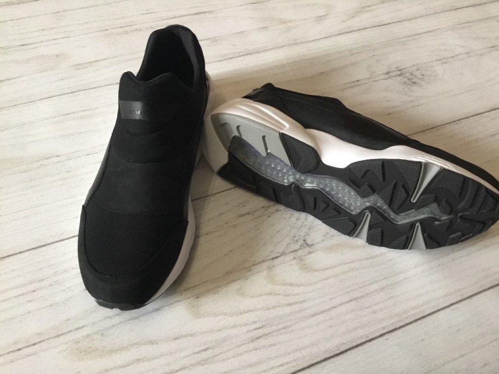 Кроссовки puma x stampd trinomic sock nm black - Отличная стильная и удобная модель