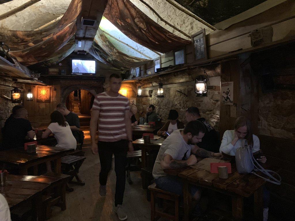 Ресторан Криївка (Крыивка) - «Криївка» во Львове - обязательно к посещению