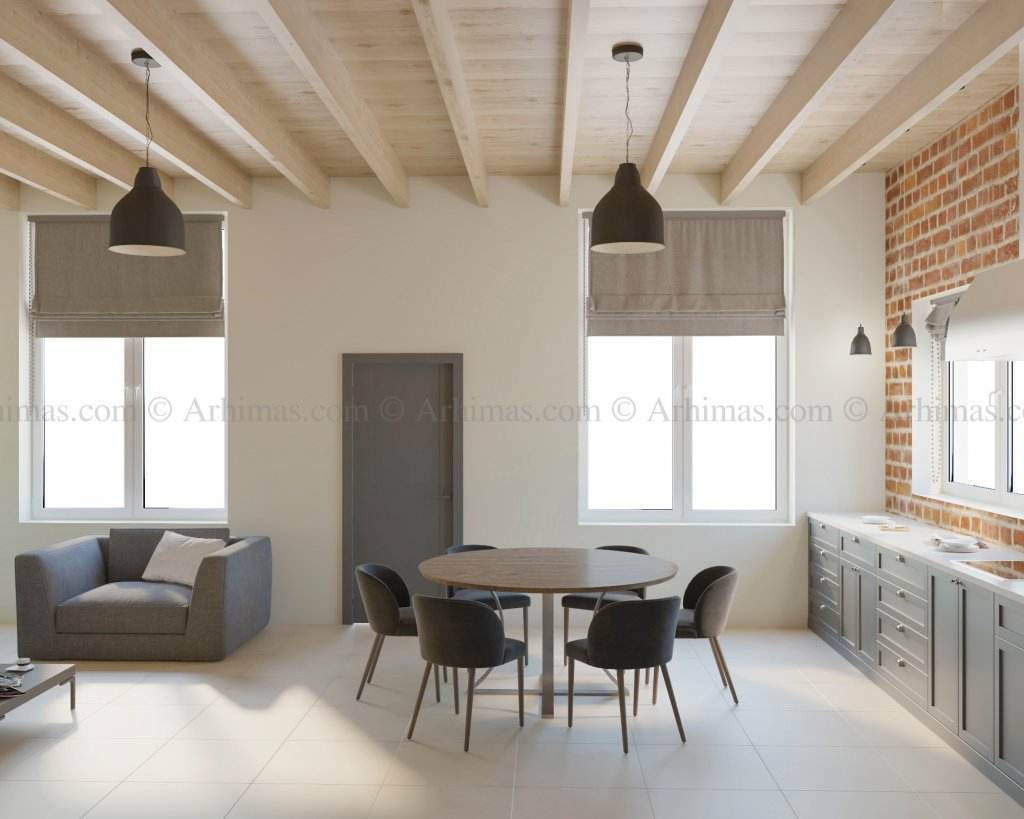 Архитектурная мастерская Архимас - Небольшой домик в Совиньоне.