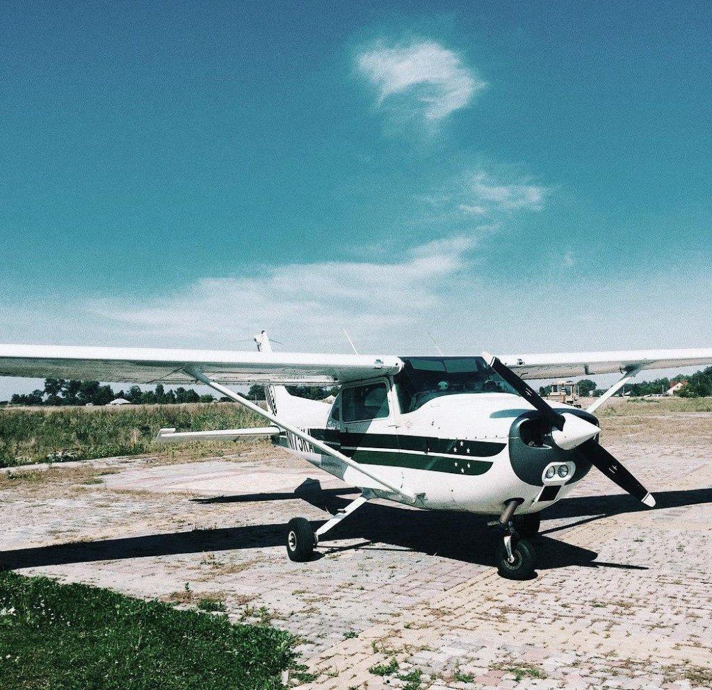 Donum - політ на літаку Цессна 172