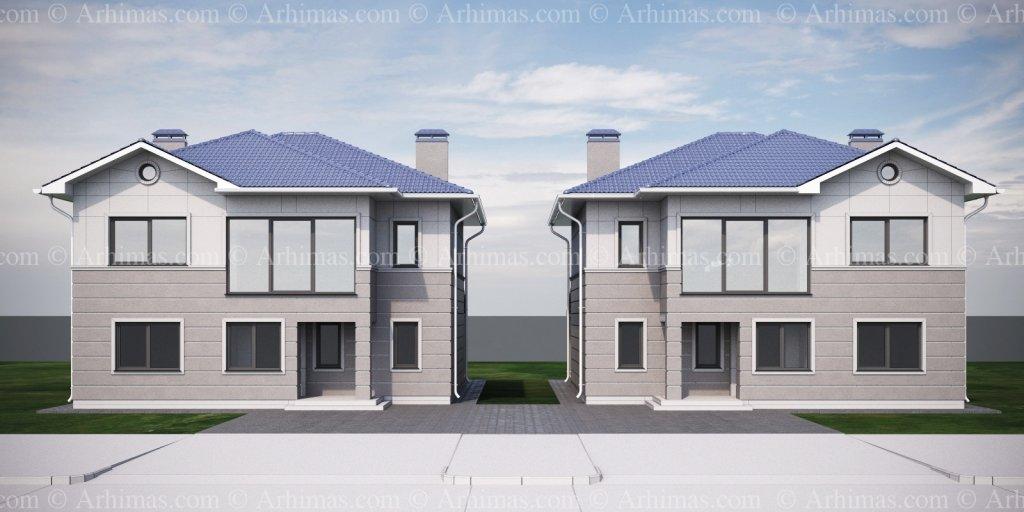 Архитектурная мастерская Архимас - Проект дома с традиционными формами