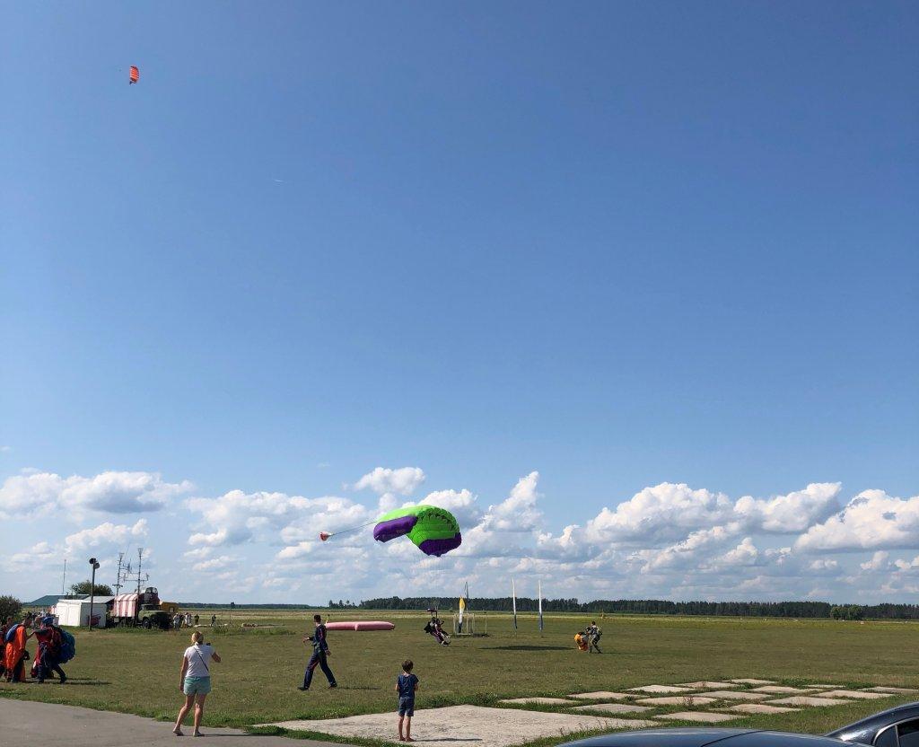 Donum - Прыжок с парашютом в тандеме