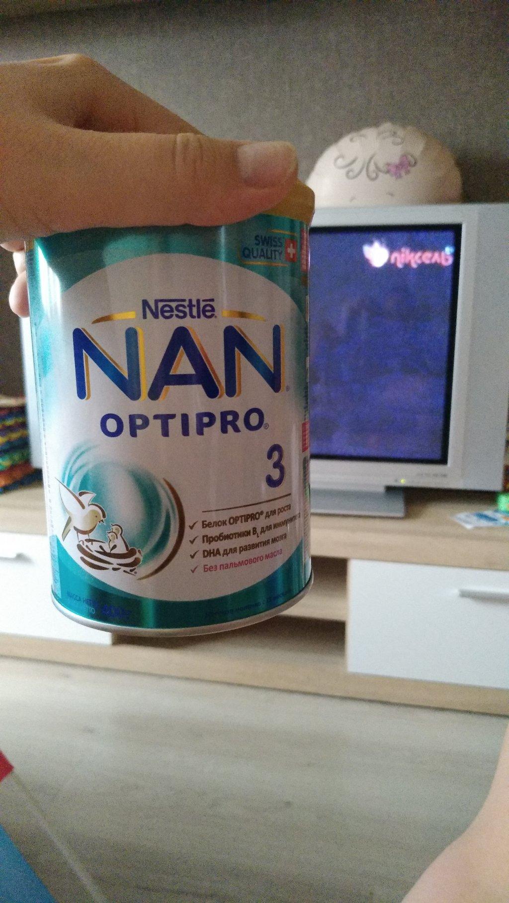 НАН - Няшная смесь NAN 3 Optipro от Nestle