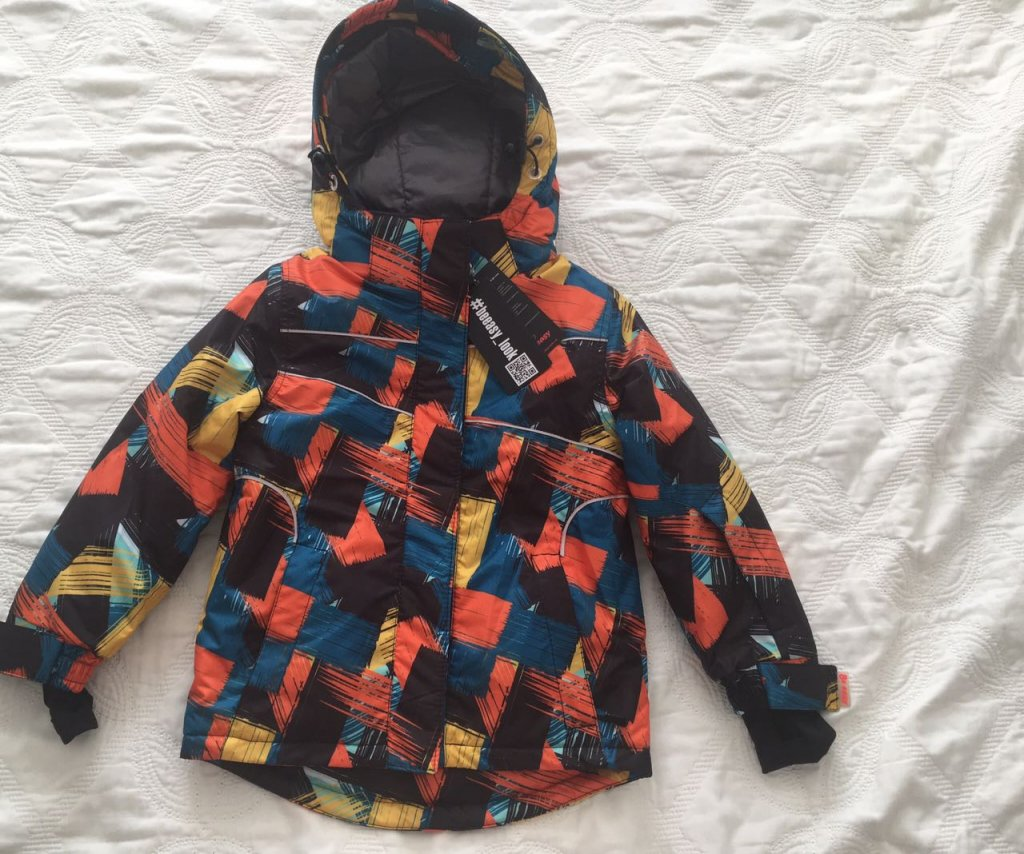 Производитель детской одежды ТМ Be easy - Зимний комплект на мальчика Пайк в оранжевом цвете