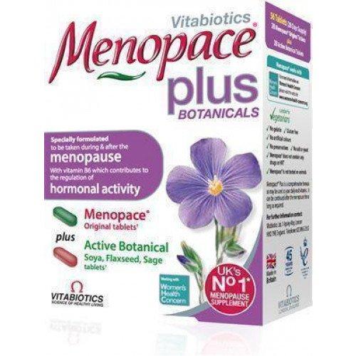 Menopace plus vitabiotics - В Англии плохого не сделают