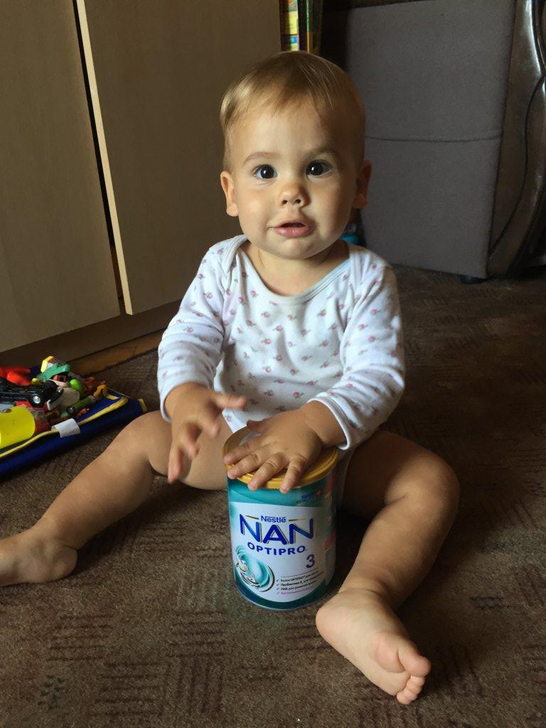НАН - Нам сподобалось молочко Nan 3 Optipro