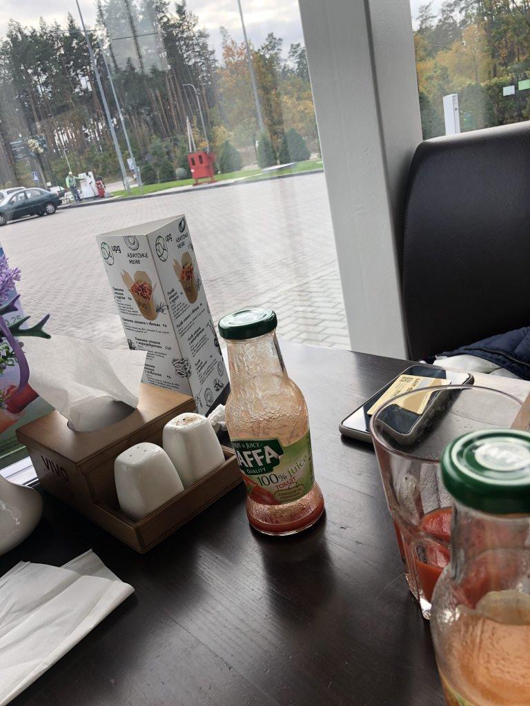 АЗС UPG - Не хорошая ситуация в кафе UPG Буча в пище обнаружили слезняка.