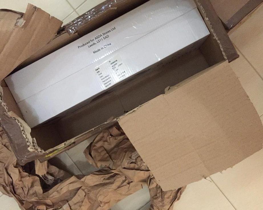ukraine-express.com международные перевозки - Коробка в коробке и много бумаги
