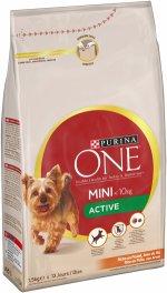 Сухой корм для активных собак малых пород Purina One Mini отзывы