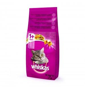Влажный корм для кошек Whiskas желе с индейкой и овощами