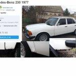 Мercedes-Benz 230 1977 отзывы