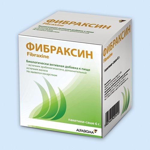 Фибраксин - Во время диеты пью фибраксин