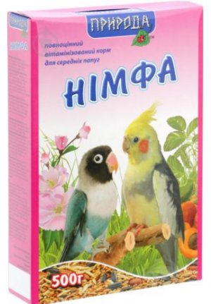 Корм для попугаев Природа Нимфа