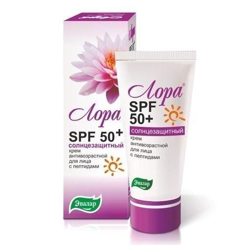 Солнцезащитный крем Лора SPF 50+