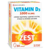 ZEST Vitamin D3 (ЗЕСТ Витамин D3) инструкция