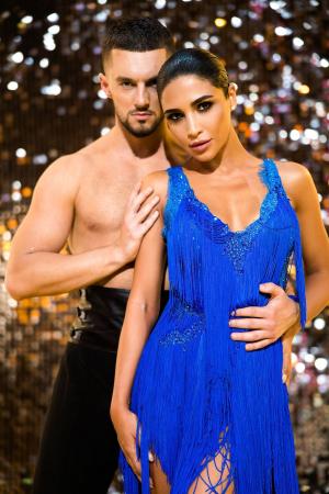 Санта Димопулос и Макс Леонов. Танцы со звездами 2020