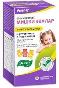 Беби формула мишки Эвалар Мультивитамины (йод+холин)