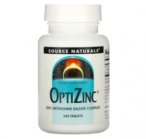 Source Naturals OptiZinc (ОптиЦинк)